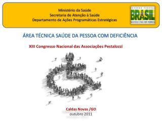 ÁREA  TÉCNICA SAÚDE DA PESSOA COM  DEFICIÊNCIA