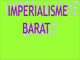 IMPERIALISME BARAT