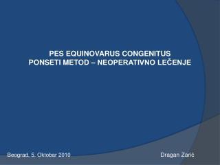Beograd, 5.  Okt obar  2010 Dragan Zari ć