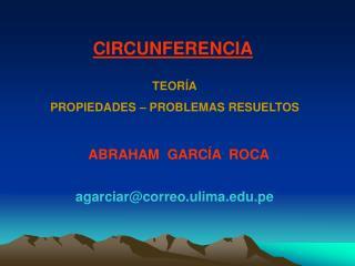 ABRAHAM  GARCÍA  ROCA