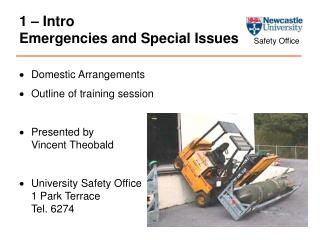 1 – Intro Emergencies and Special Issues