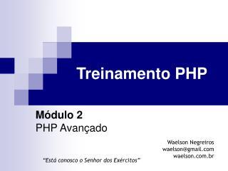 Treinamento PHP