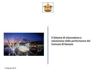 Il Sistema di misurazione e valutazione delle performance del Comune di Genova