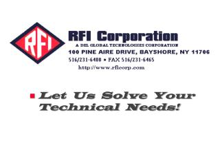 Let  Us  Solve  Your              Technical  Needs!