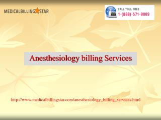 anesthesiology  billng services