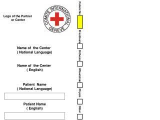 Logo of the Partner  or Center