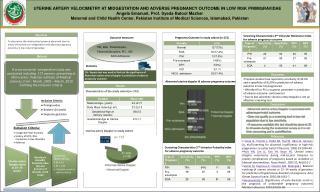 UTERINE ARTERY VELOCIMETRY AT MIDGESTATION AND ADVERSE PREGNANCY OUTCOME IN LOW RISK PRIMIGRAVIDAE