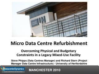 Micro Data Centre Refurbishment