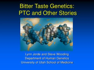 Bitter Taste Genetics:  PTC and Other Stories