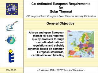 Co-ordinated European Requirements for Solar Thermal