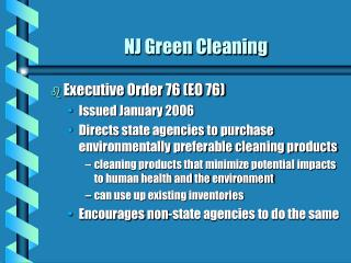 NJ Green Cleaning