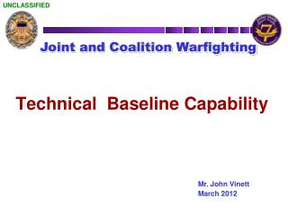 Joint and Coalition Warfighting