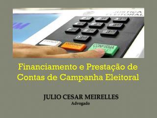 JULIO CESAR MEIRELLES Advogado