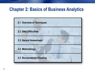 Chapter 2: Basics of Business Analytics