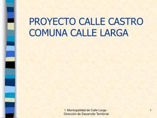 I. Municipalidad de Calle Larga - Direcci n de Desarrollo Territorial
