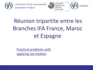 Practical problems with applying tax treaties