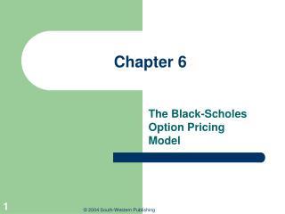 Valuing stock options the black-scholes-merton model