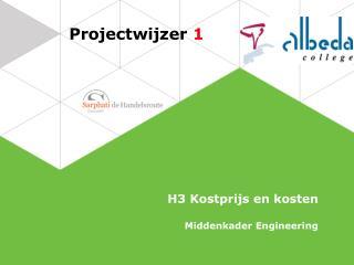 Projectwijzer  1