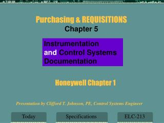 Honeywell Chapter 1
