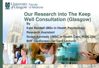 Our Research into The Keep Well Consultation (Glasgow)