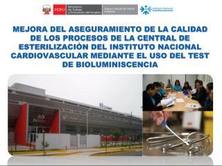 "Instituto Nacional Cardiovascular  ""Carlos Alberto Peschiera Carrillo"" INCOR - ESSALUD"