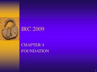 IRC 2009