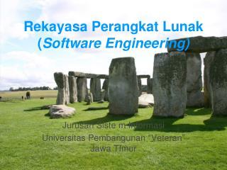 Rekayasa Perangkat Lunak ( Software Engineering)