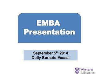 EMBA  Presentation