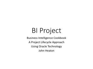 BI Project