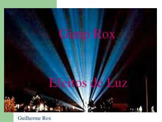Gimp Rox! Efeitos de Luz