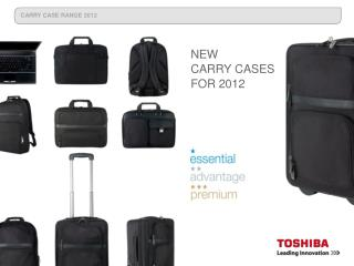 NEW  CARRY CASES FOR 2012