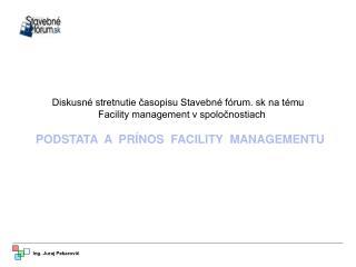 Diskusné stretnutie časopisu Stavebné fórum. sk na tému