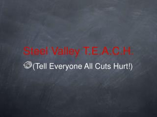 Steel Valley T.E.A.C.H.
