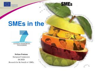 Stefano Fontana European Commission DG RTD Research for the benefit of  SMEs