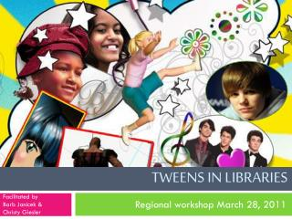 Tweens  in libraries