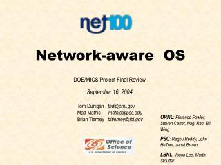 Network-aware  OS