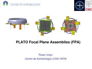PLATO Focal Plane Assemblies (FPA)