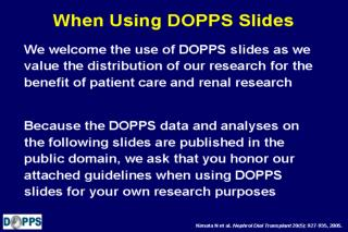 When Using DOPPS Slides
