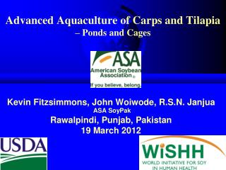 Advanced Aquaculture of Carps and Tilapia  – Ponds and Cages