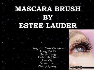 MASCARA BRUSH BY  ESTEE LAUDER