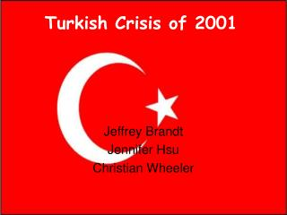 Turkish Crisis of 2001