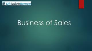 Business of Sales