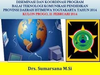 Drs. Sumarsana M.Si