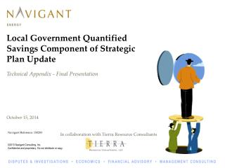 Local Government  Quantified Savings Component of Strategic Plan Update