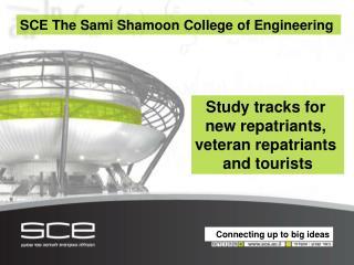 SCE  The Sami Shamoon College of Engineering