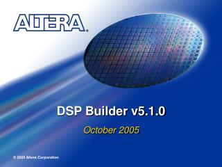 DSP Builder v5.1.0