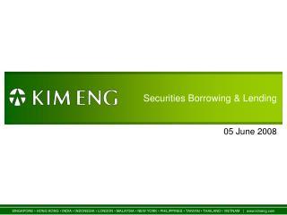 Securities Borrowing & Lending