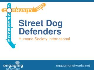 Street Dog Defenders Humane Society International