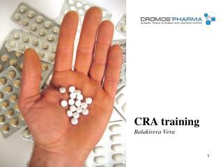 CRA training  Balakireva Vera