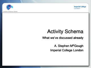 Activity Schema